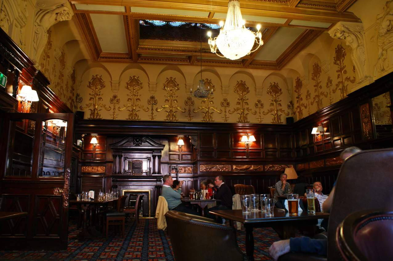 The Philarmonic Dining Rooms. Top 10 bars in Liverpool for this festive season   BASE Serviced