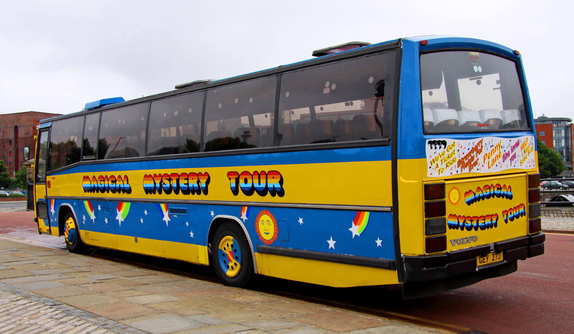 Magical Mystery Tour Liverpool Bus Tour