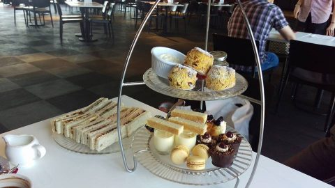maritime dining room afternoon tea