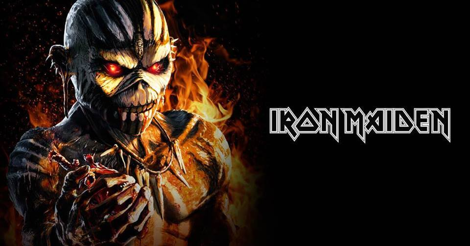 Iron Maiden The Book of Souls Tour 2017