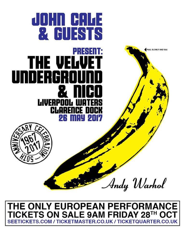 John Cale Presents The Velvet Underground & Nico Liverpool 2017