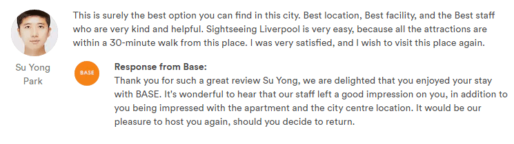 BASE Serviced Apartments Review 1