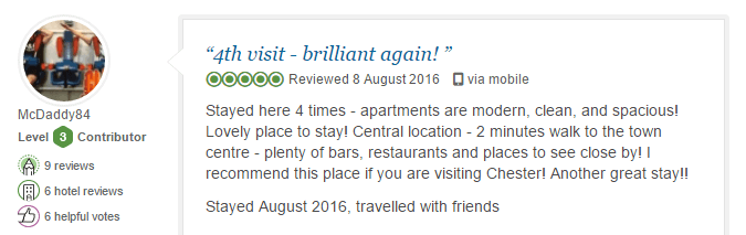 BASE Serviced Apartments Testimonials 4