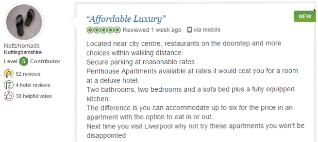 BASE Serviced Apartments Testimonials 7