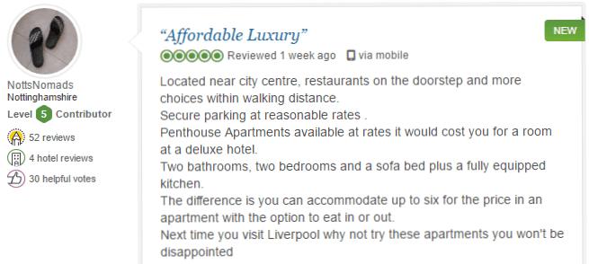 BASE Serviced Apartments Testimonials 7
