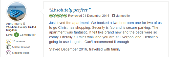 BASE Serviced Apartments Testimonials 5