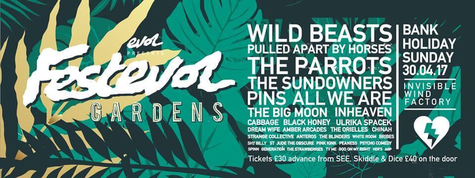 FestEvol Gardens April 2017 Liverpool