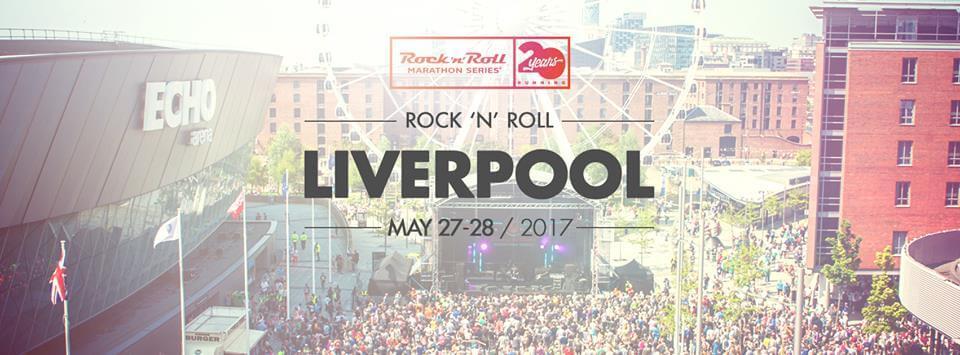 Rock N Roll Marathon Liverpool 2017