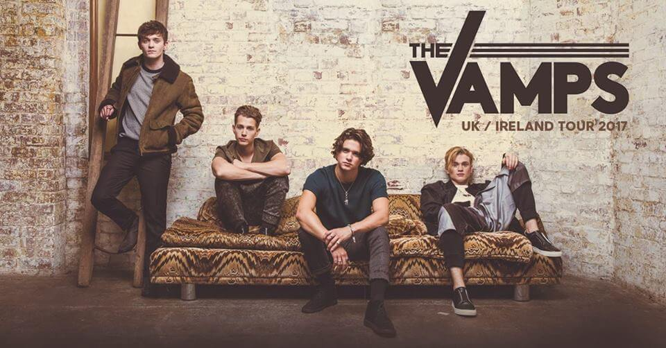 The Vamps UK Tour May 2017