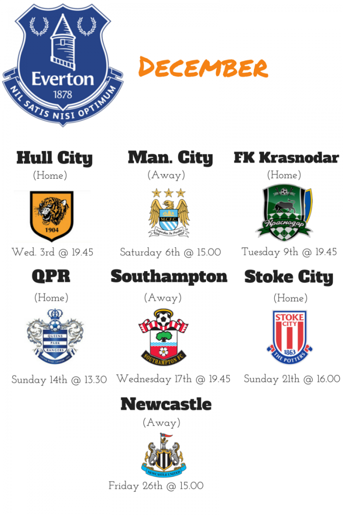 Everton December