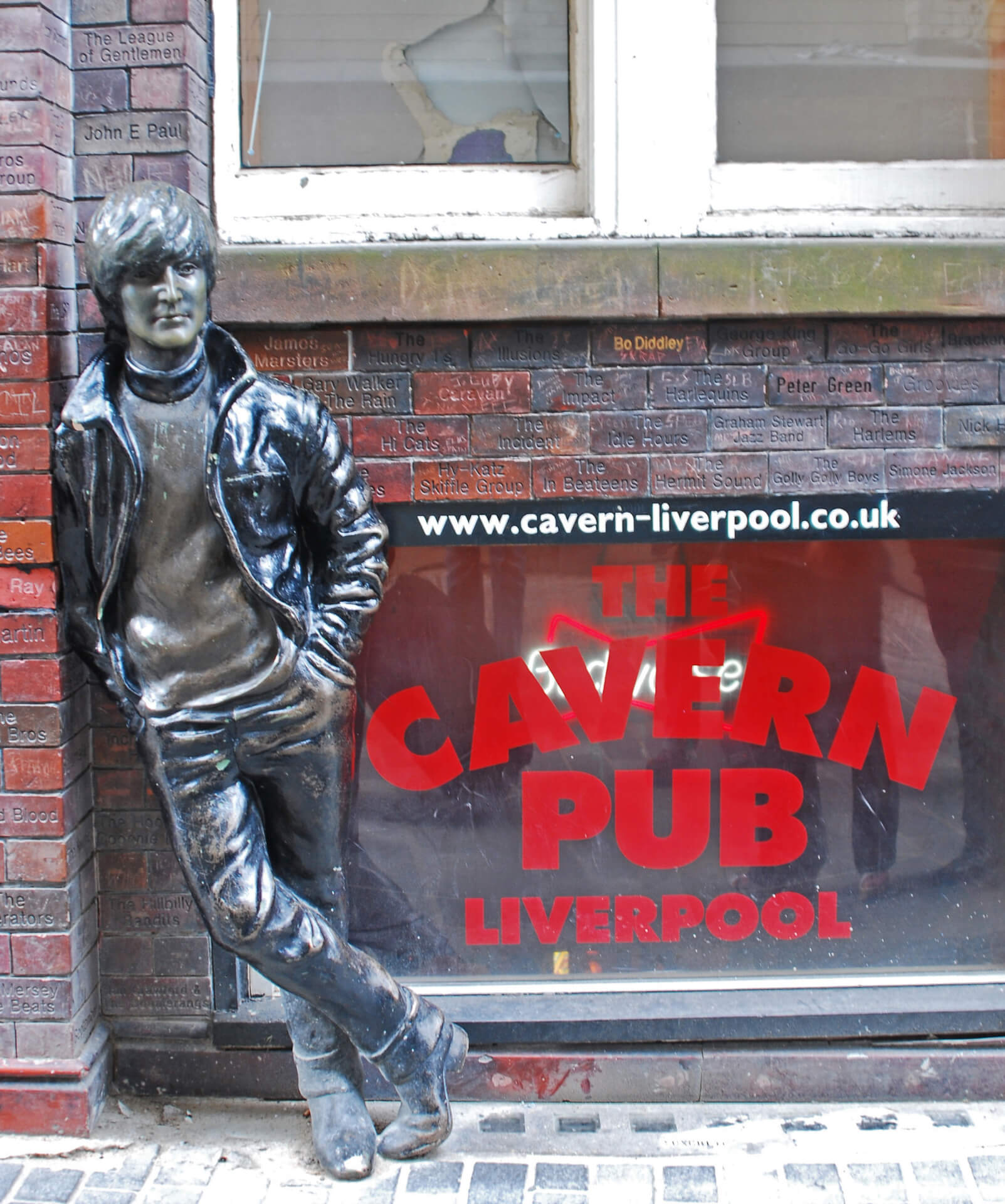 The Cavern Club is a rock and roll club at 10 Mathew Street, Liverpool, England, where Brian Epstein was introduced to the Beatles on 9 November 1961. The club opened on January 16, 1957. From: http://en.wikipedia.org/wiki/Cavern_Club