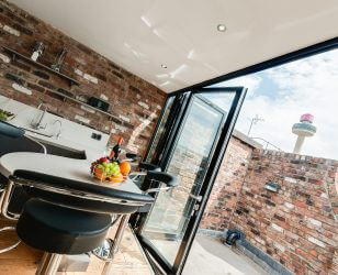 Kitchen Penthouse Sir Thomas Street Liverpool