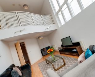 Living Room Penthouse Liverpool