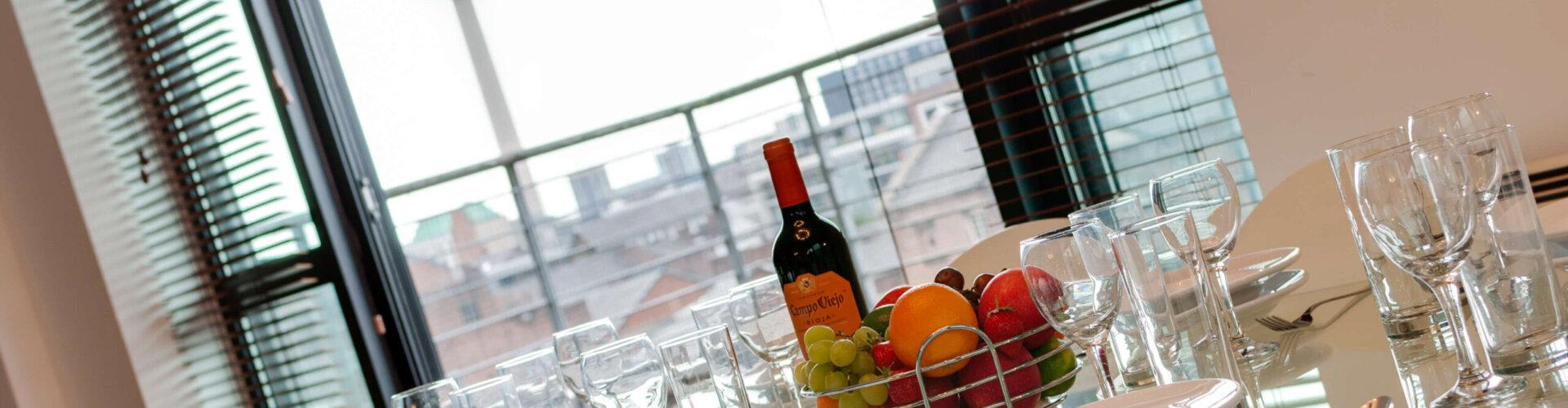 Dining Table Duke Street Apartment Liverpool