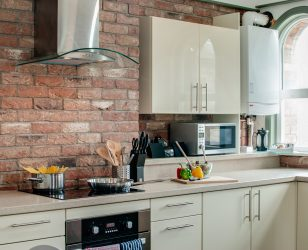 Kitchen Sir Thomas Street Apartment Liverpool