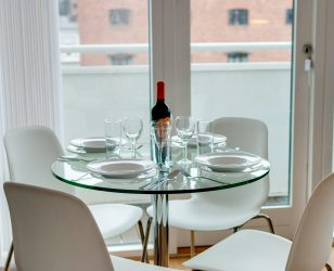 Dining Area Apartment Liverpool