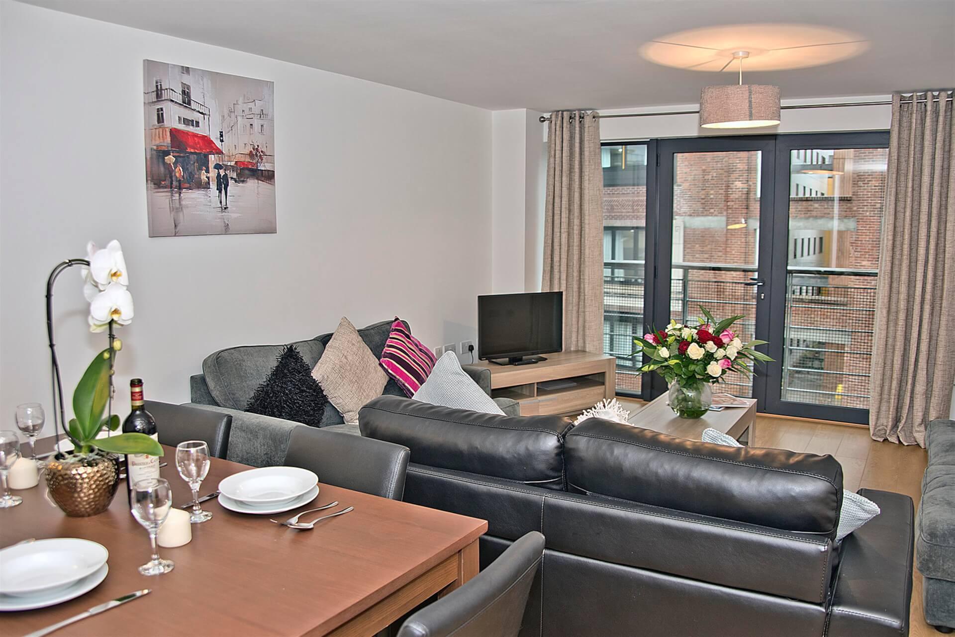 Dining Area & Living Room 2 (Custom)