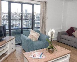 South Ferry Quay - Living room