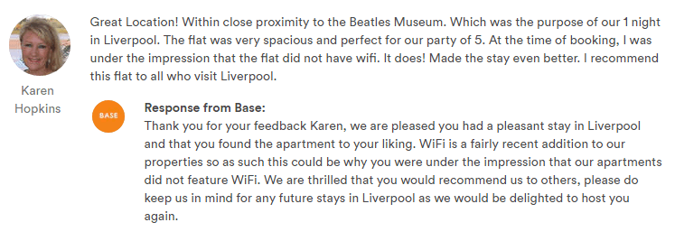 BASE Serviced Apartments Review 9