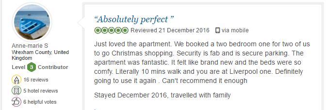 BASE Serviced Apartments Testimonials 5