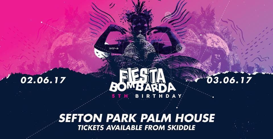 Fiesta Bombarda 5th Birthday Liverpool