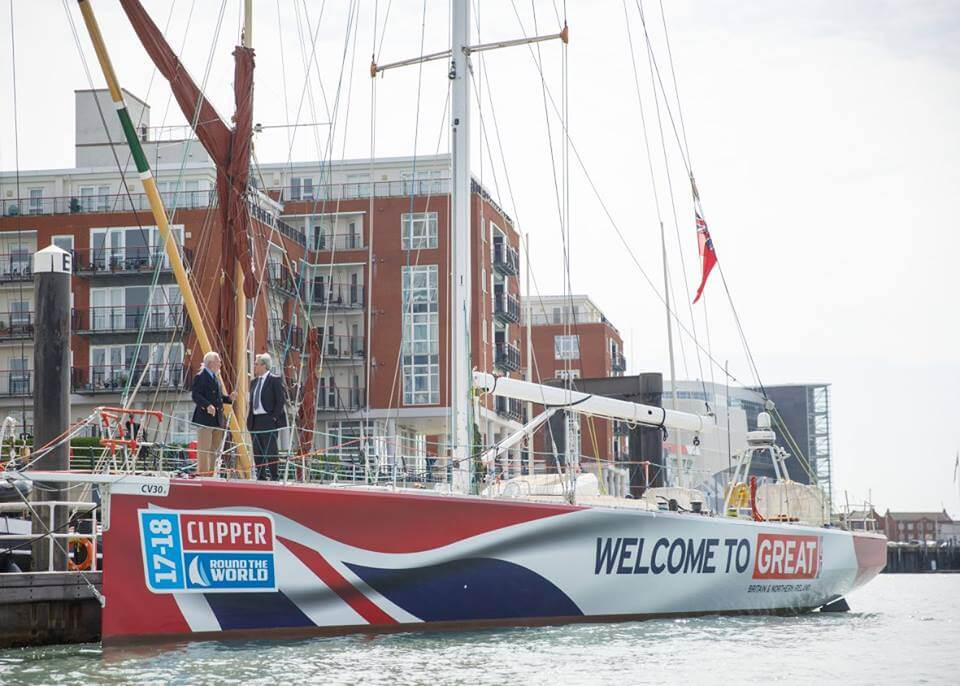 Clipper Round The World Yacht Race Liverpool 2017