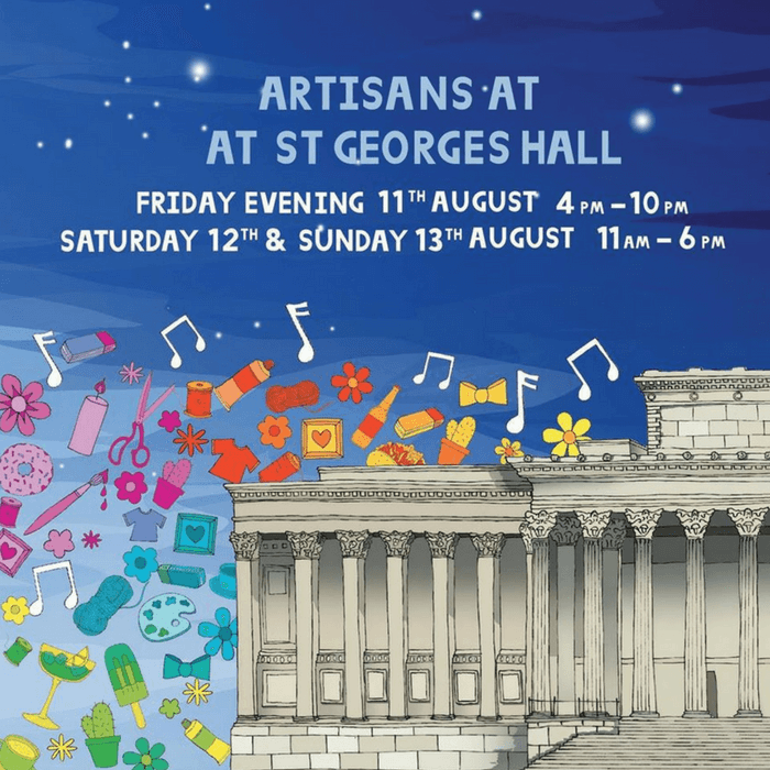 Artisans at St George's Hall August 2017