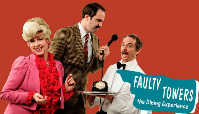 Faulty Towers: The Dining Experience - Liverpool - November 2017