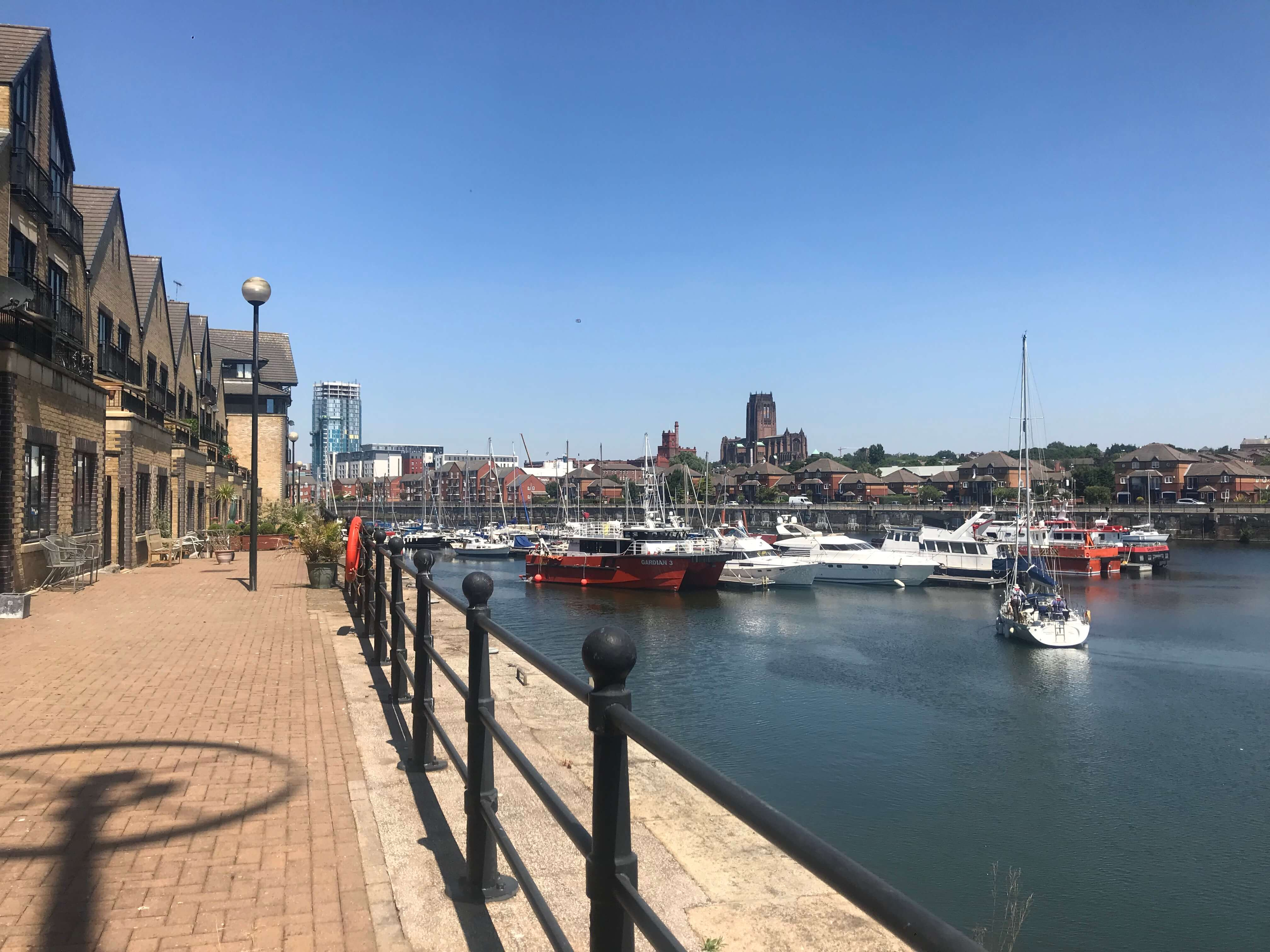 South Ferry Quay Marina View Apartment Liverpool Base Apartments