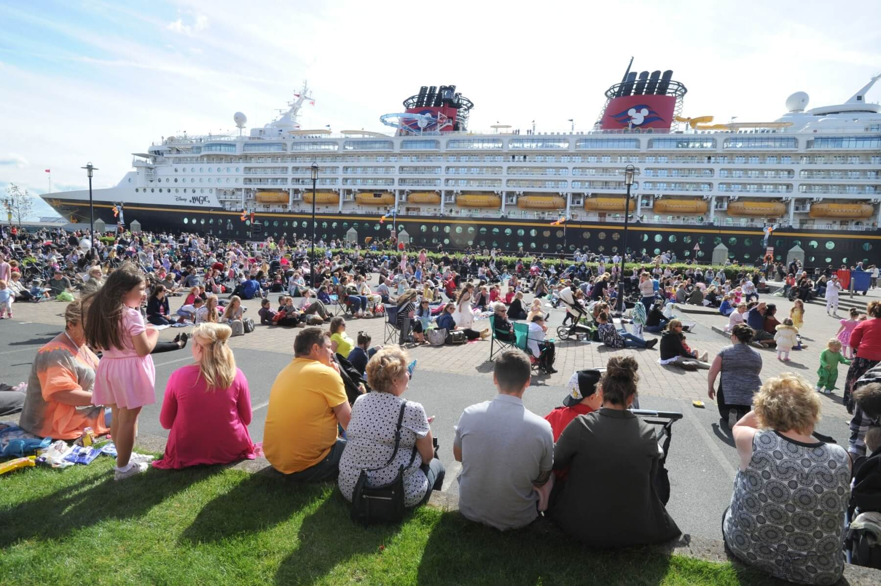 Disney Magic Ship Liverpool