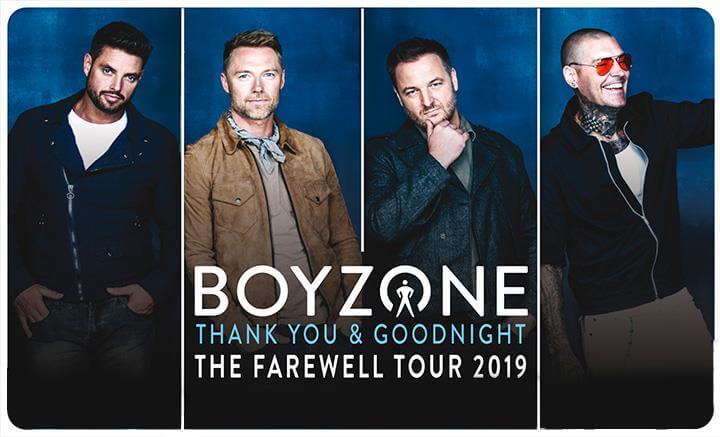 boyzone fairwell tour echo arena 2019