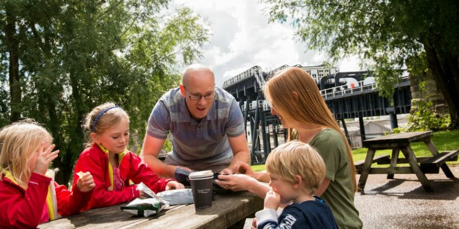 anderton boat lift  family things to do cheshire