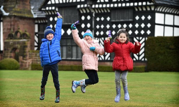 cadburys easter egg hunt speke hall easter 2019