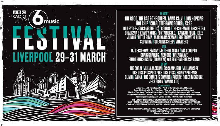 bbc 6 music festival liverpool 2019