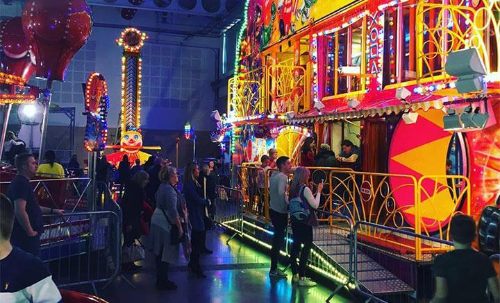 Liverpool indoor funfair 2019 convention centre liverpool