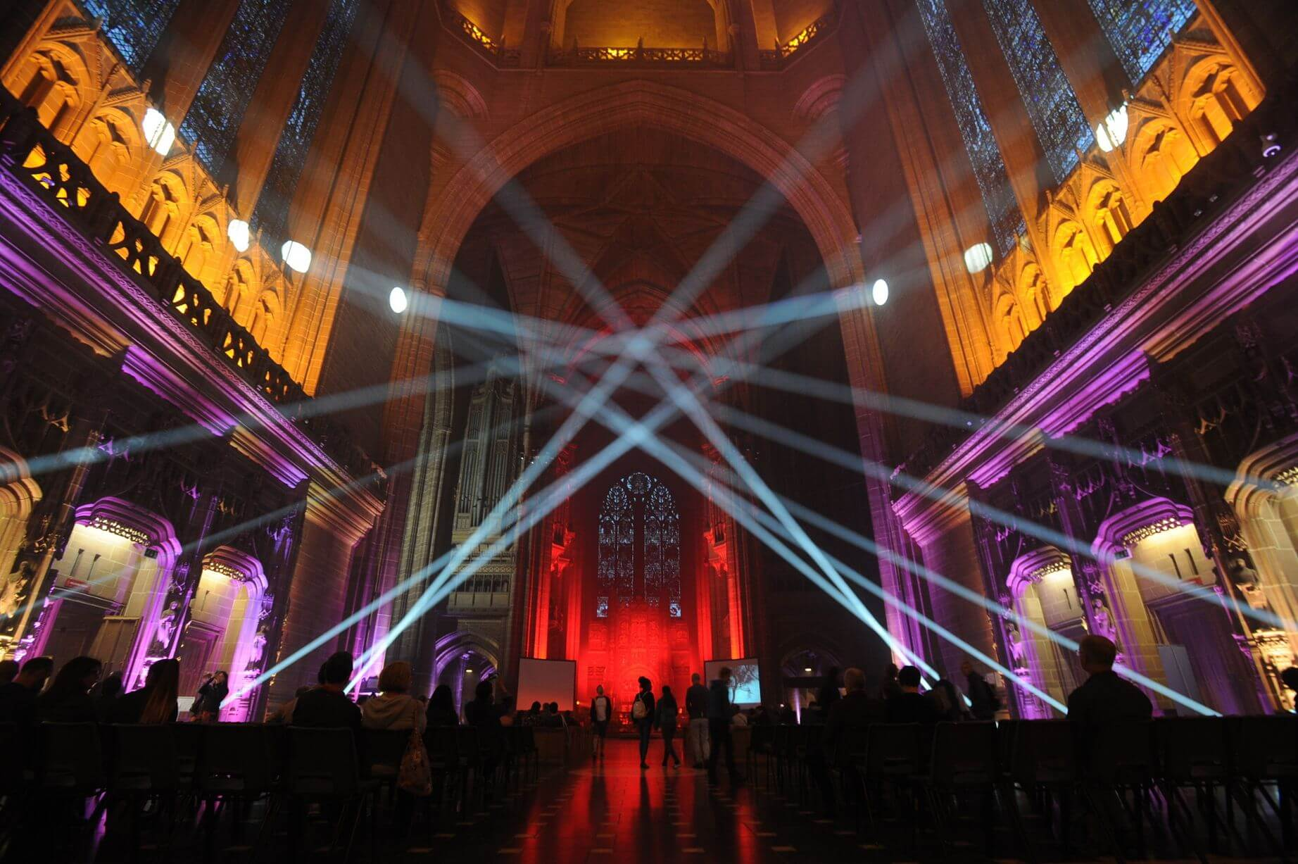 lightnight liverpool 2019 liverpool cathedral