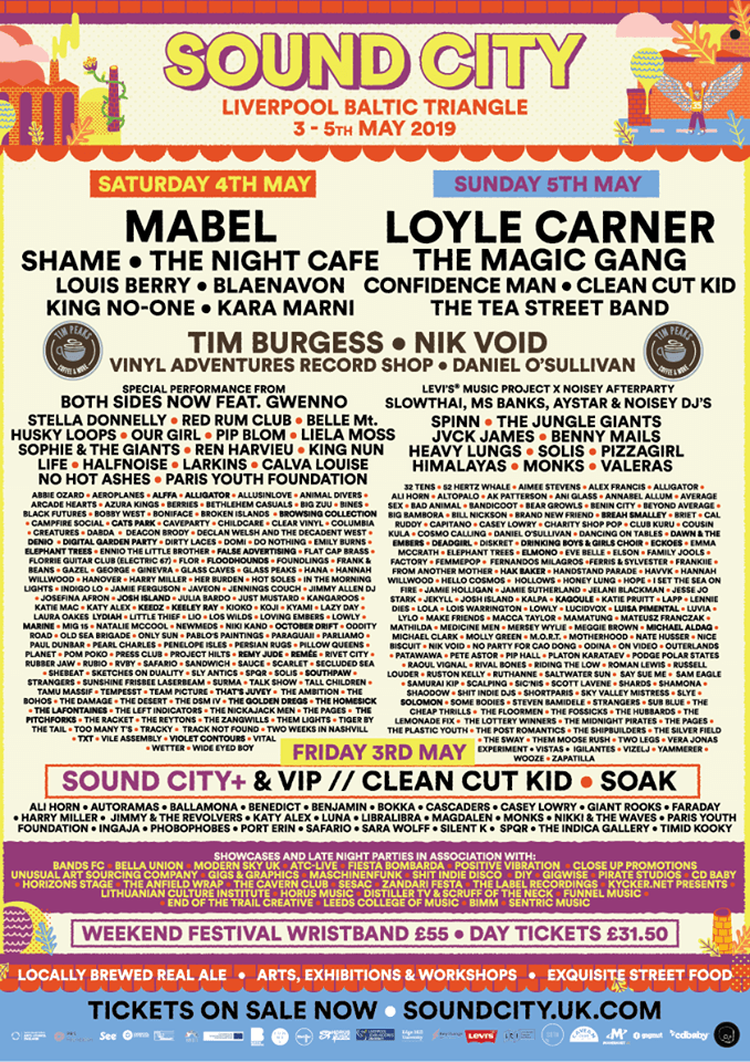 sound city festival liverpool 2019