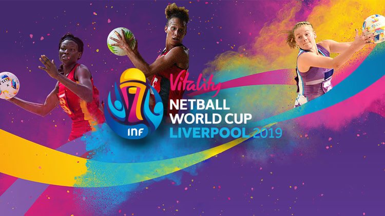 Netball world cup liverpool 2019