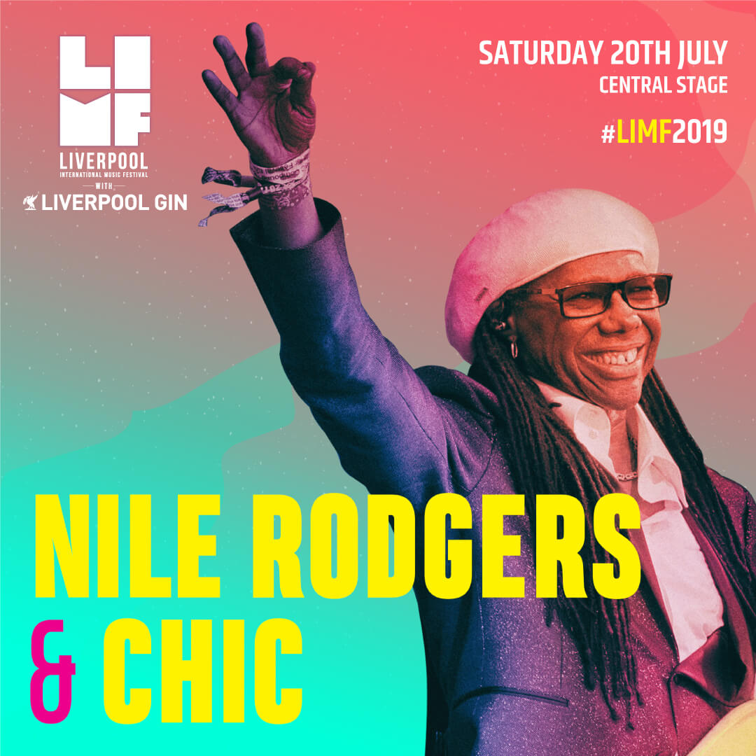 Nile Rodgers and Chic LIMF liverpool 2019