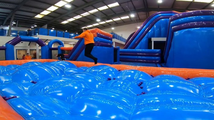 inflatable adventure world liverpool